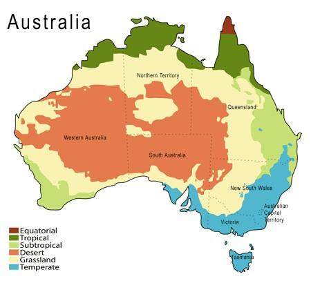 Klimaet I Australien
